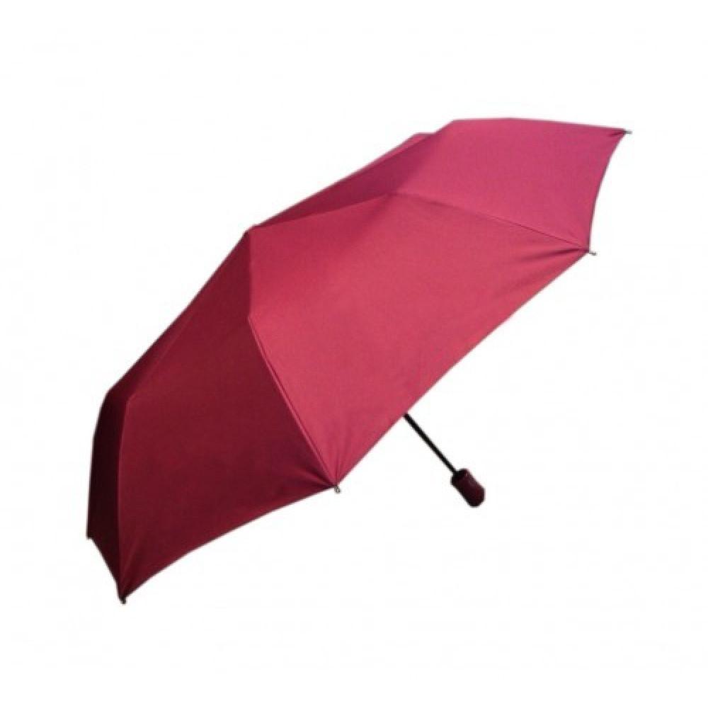 Зонт-полуавтомат однотонный