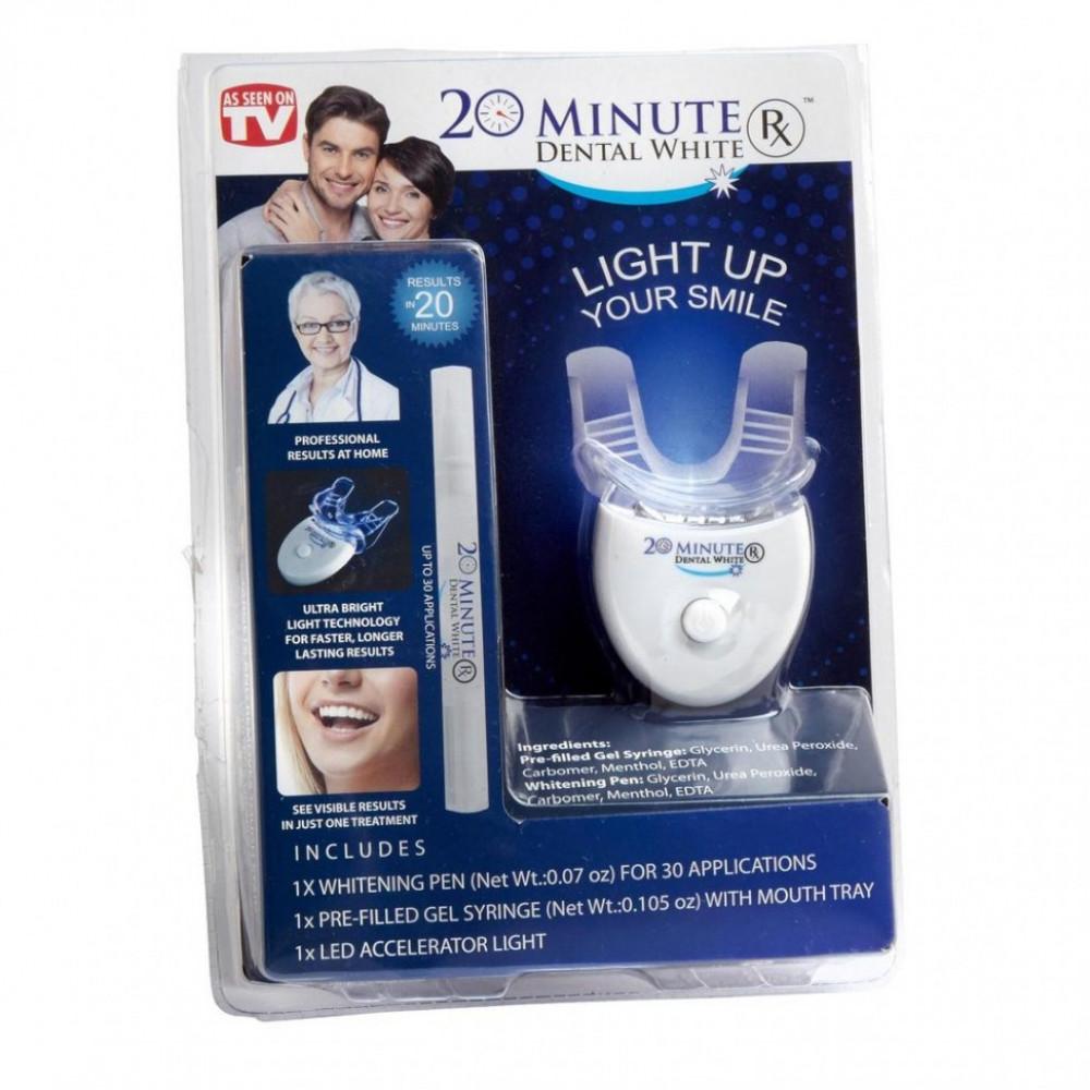 "Система для отбеливания ""Light Up Your Smile 20 Minute Dental White"""
