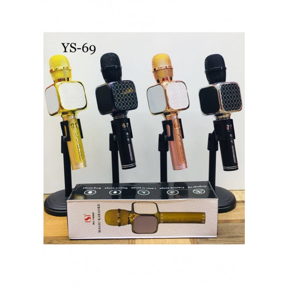 Караоке микрофон с bluetooth динамиком