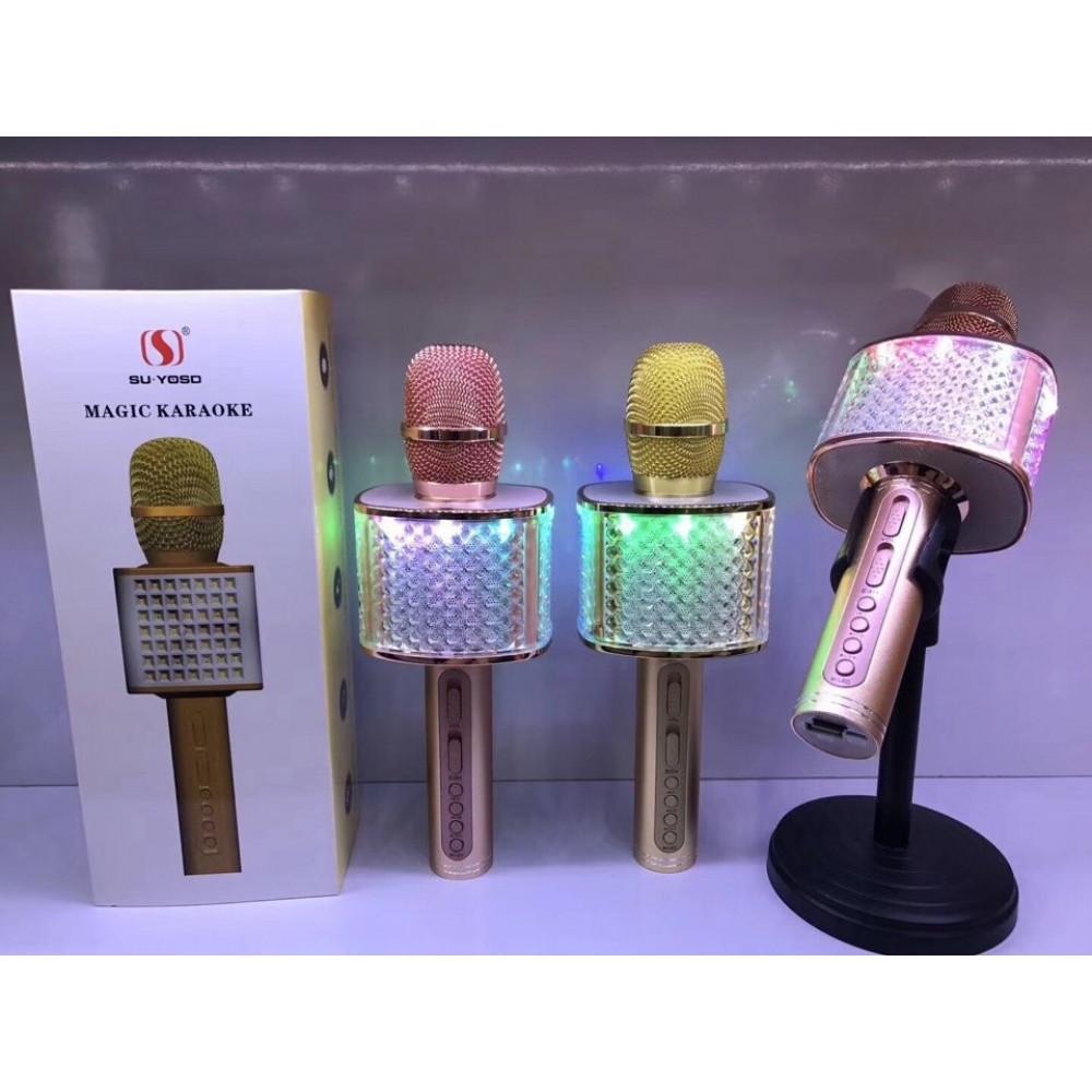 Волшебный беспроводной Bluetooth-караоке-микрофон