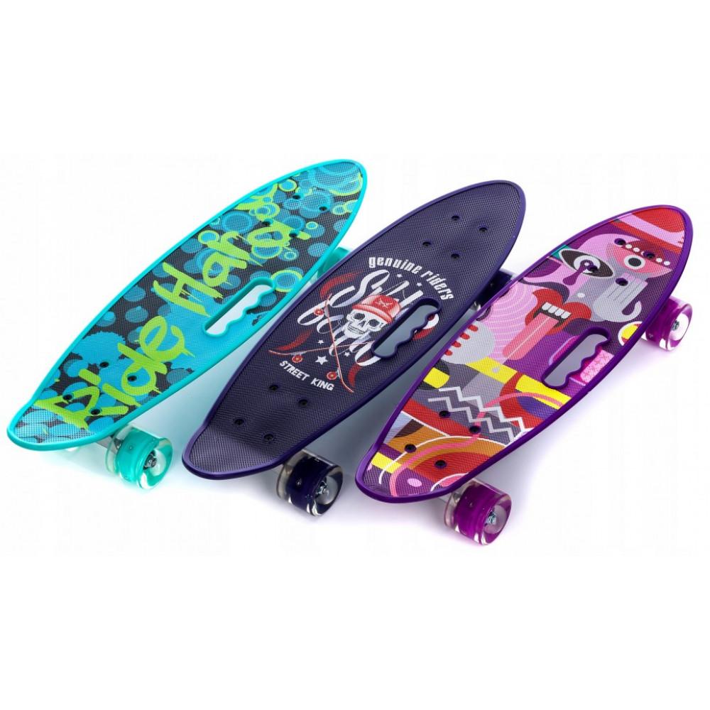 Скейтборд с ручкой (59 см)