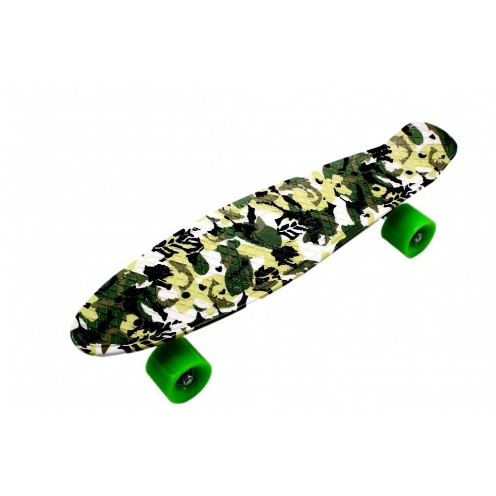 Скейтборд цветной (56 см)