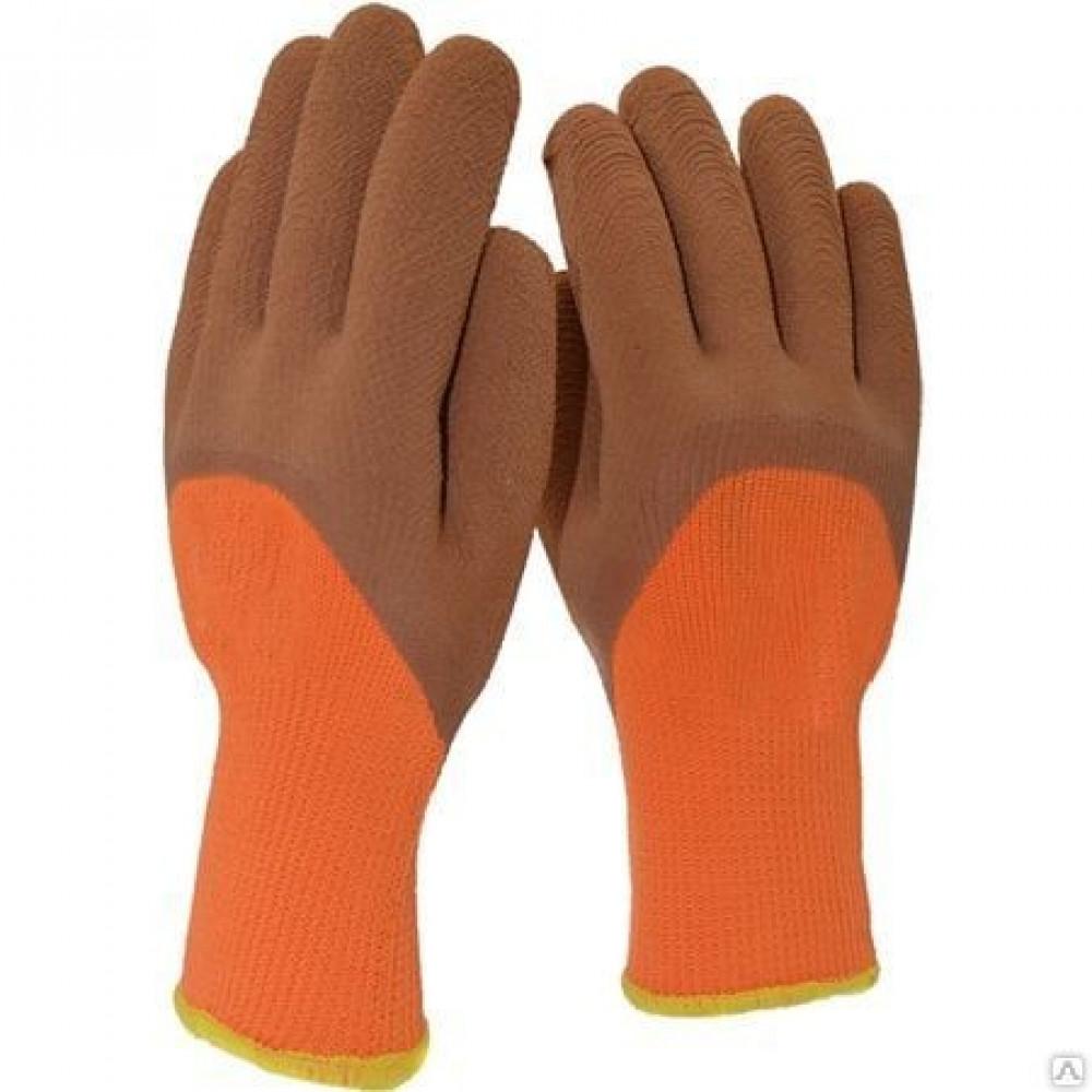 Перчатки вспененные латексные (зима)