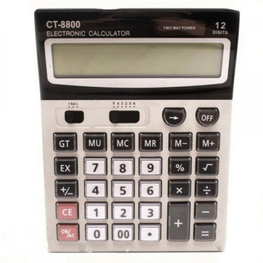 """Профессиональный настольный калькулятор """"CT-8800"""""""