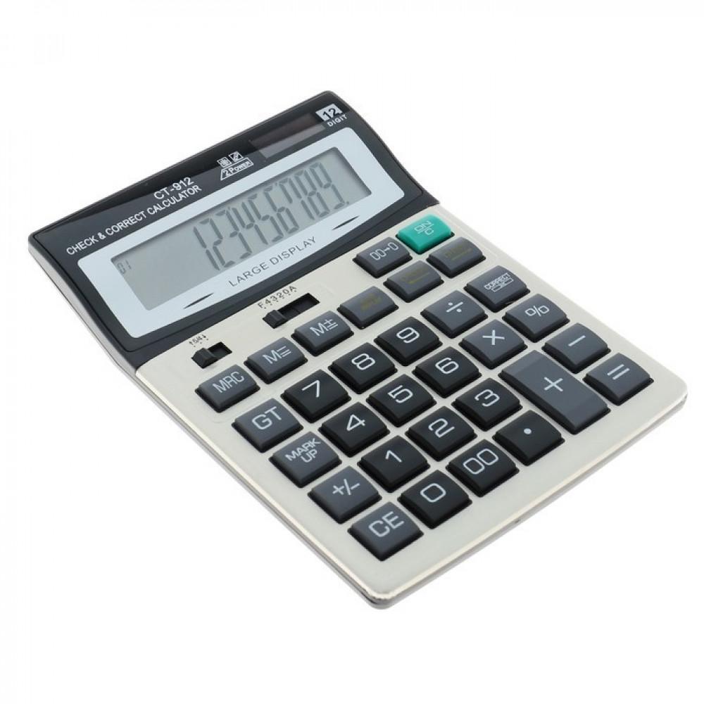 """Калькулятор настольный 12-разрядный """"CT-912"""""""