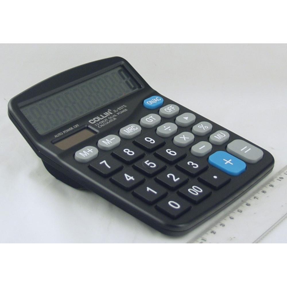 """Калькулятор """"COLLIN JL837S"""" 12-разрядный"""