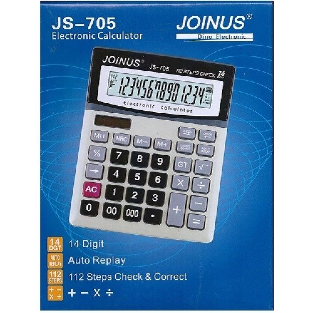 """Профессиональный настольный калькулятор """"JS-705"""""""