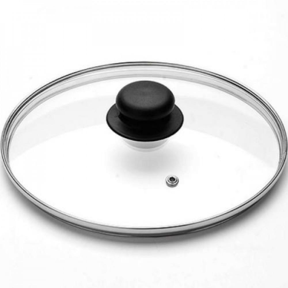 Крышка стеклянная с пароотводом (28 см)