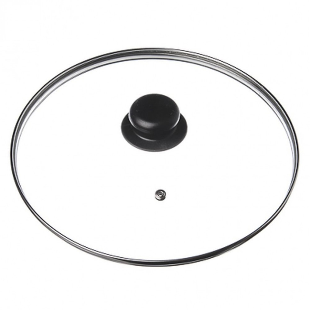 Крышка стеклянная с пароотводом (24 см)