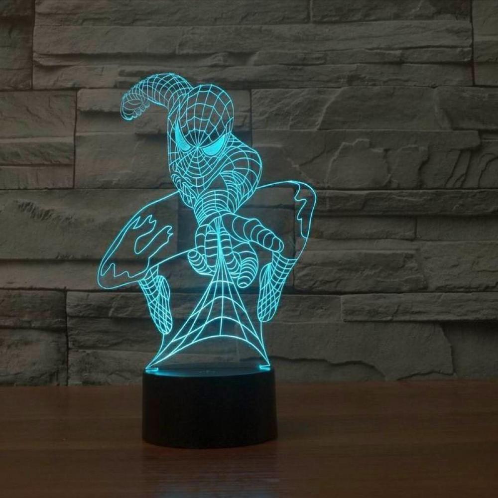 """Ночник светодиодный 3D """"Человек-Паук"""""""