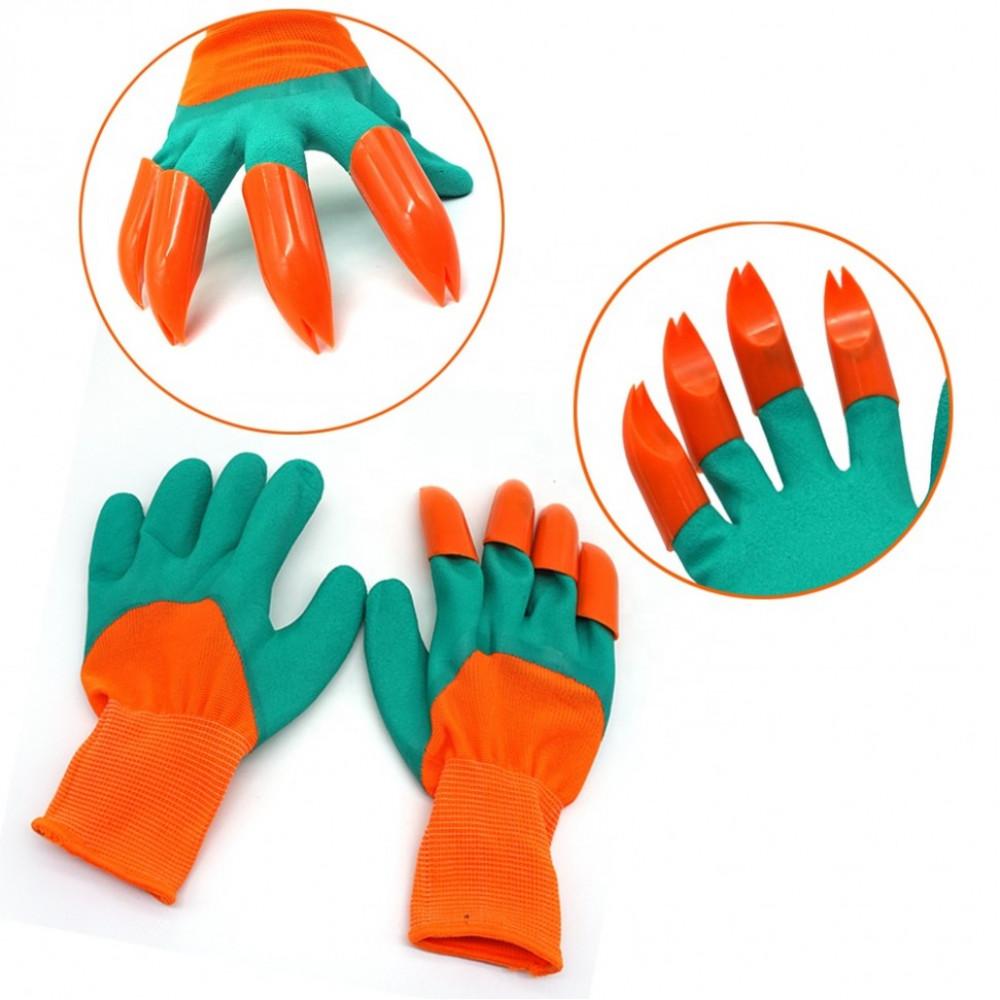 "Перчатки садовые с когтями ""Garden Genie Gloves"" (раздвоенные)"