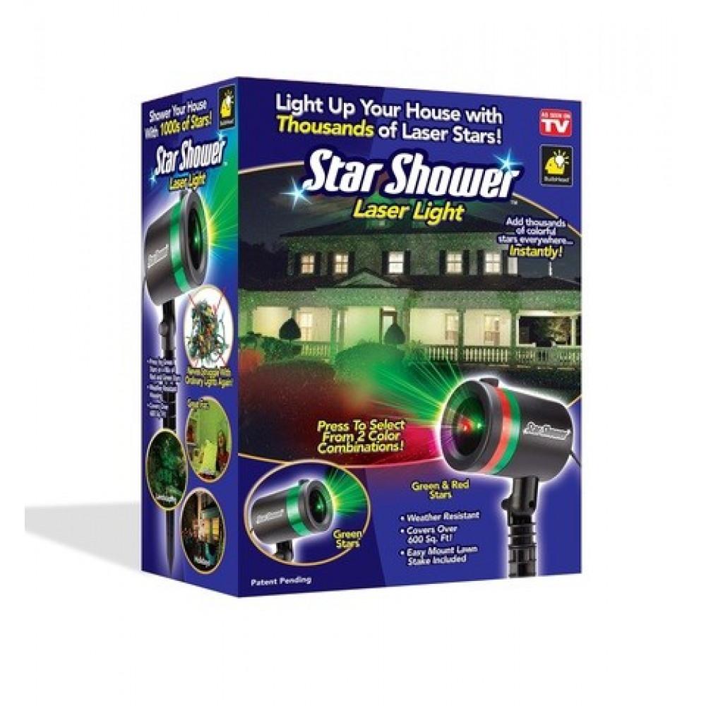 "Лазерный проектор ""Star Shower Laser Light Projector"""