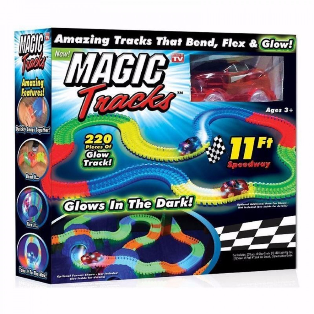 """Конструктор """"Magic Tracks"""" (220 деталей)"""