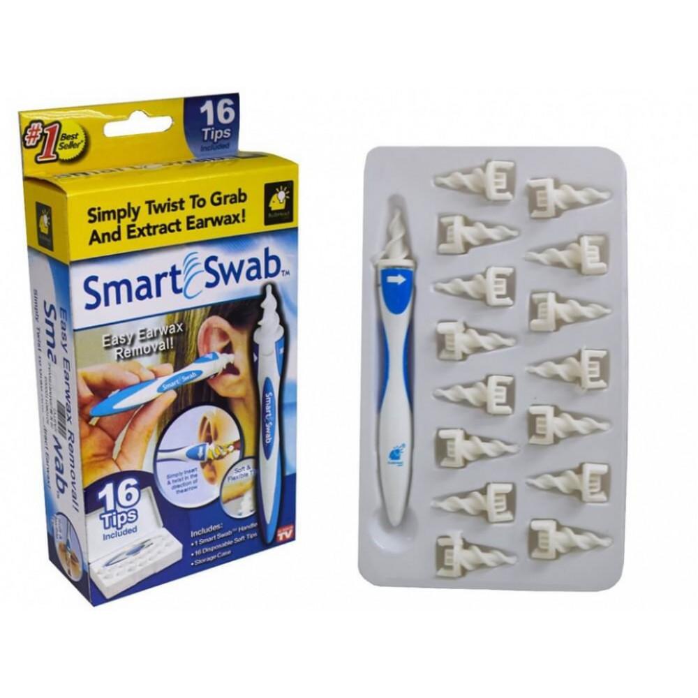 """Для чистки ушей """"Smart Swab"""""""
