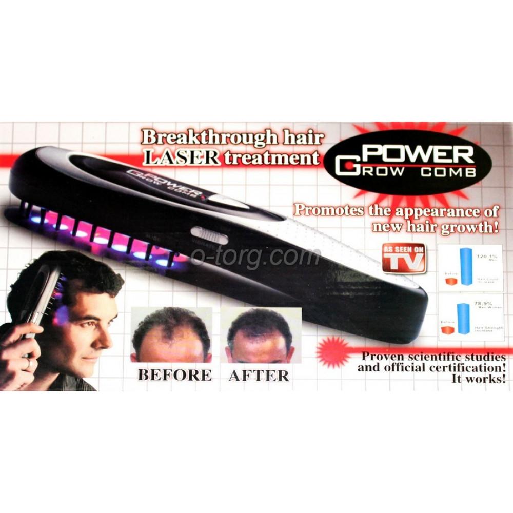 """Аппарат для восстановления роста волос """"Power Grow Comb"""""""