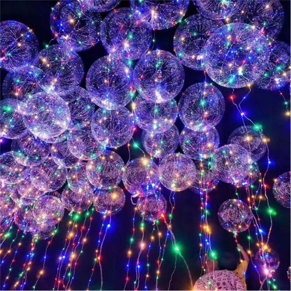 Воздушный шар со светодиодами