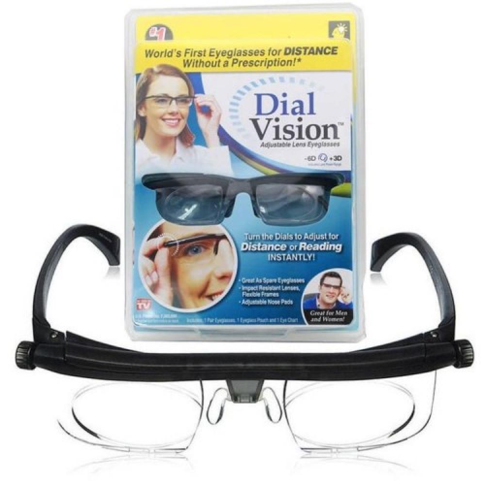 """Очки с регулировкой линз """"Dial Vision"""""""